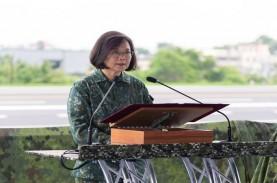 Tegang dengan China, Taiwan Gelar Latihan Perang