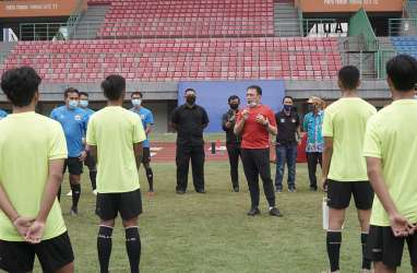 Sambangi Timnas Indonesia U-16, Ini Pesan-pesan Ketua Umum PSSI