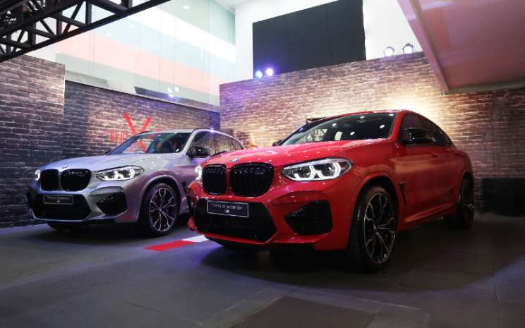 BMW X3 M dan X4 M Competition.  - BMW