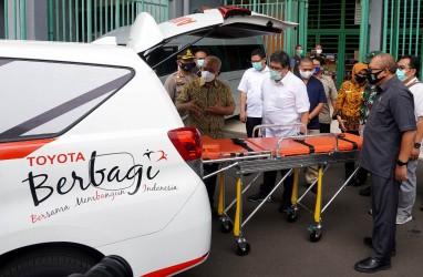 Toyota Donasikan 1 Kijang Innova Ambulans ke Pemkot Bekasi