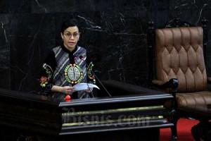Menteri Keuangan Sri Mulyani Indrawati Paparkan RUU P2APBN TA 2019 di DPR