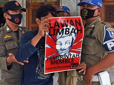 Mapala Banten Protes ke Bupati Serang Atas Pecemaran Sungai Ciujung