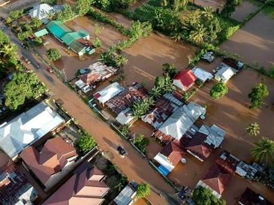 Sejumlah Kecamatan di Gorontalo Terendam Banjir