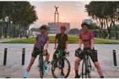 Artis Ramai-ramai Mulai Bersepeda, dari Luna Maya Hingga Raffi Ahmad