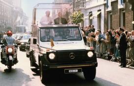 Mercedes Benz G-Class, Mobil Offroad Tunggangan Sri Paus