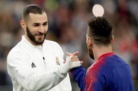Top Skor La Liga, Lionel Messi & Karim Benzema Bersaing…