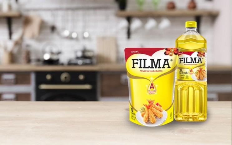 Produk minyak goreng dengan merek dagang filma. Minyak goreng merupakan salah satu produk dari PT Sinar Mas Agro Resources and Technology Tbk. - smart/tbk.com