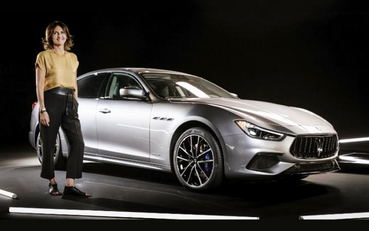 Rossella Guasco, Maserati Color and Trim Responsible; dan Maserati Ghubli Hybrid.  - MASERATI
