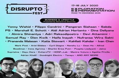 Hari Pertama, Disrupto Fest 2020 Ditonton Lebih dari 10.000 Orang