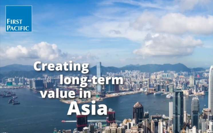 Halaman muka laman resmi First Pacific. Saham First Pacific ditutup di zona merah dengan koreksi 0,64 persen pada penutupan perdagangan Jumat (17/7/2020) di Bursa Hong Kong. - firstpacific.com