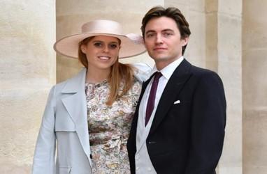 Corona Mewabah, Pernikahan Putri Beatrice dan Edoardo Mapelli Mozzi hanya Dihadiri 20 Tamu