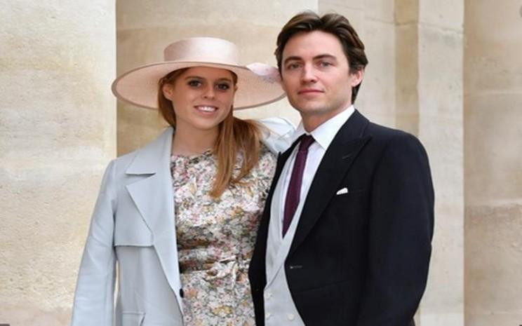 Putri Beatrice menikah dengan Edoardo Mapelli Mozzi . - Istimewa
