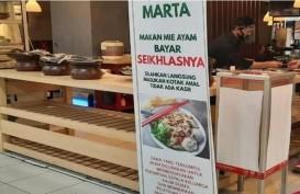 Viral Makan Mi Ayam Bayar Seikhlasnya di Restoran Mie Ayam Marta