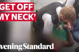 Mendengkul Leher Tiru Kasus George Floyd, Polisi London…