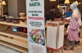 Sedang Hits! Mie Ayam Marta, Pembeli Bayar Seikhlasnya