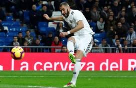 Benzema Ancam Messi Ambil Alih Top Skor La Liga di Laga Terakhir