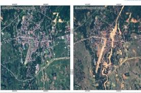 Begini Citra Satelit Luwu Utara Sebelum & Sesudah…