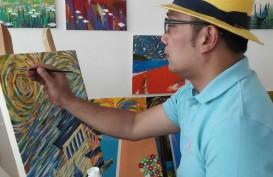 Lelang Lukisan Ridwan Kamil Terjual Rp50 Juta