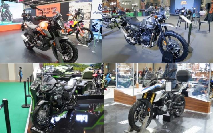 Sejumlah sepeda motor tipe adventure tourer di Bangkok International Motor Show (BIMS) 2020, 16-26 Juli.  - bangkok/motorshow.com