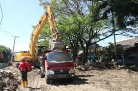 Kejadian Banjir Bandang di Luwu Utara, Pembersihan…