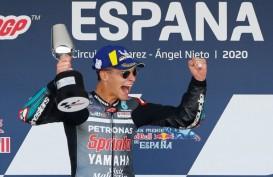 Juara Moto GP 2020 Spanyol, Quartararo: Saya Belum Percaya
