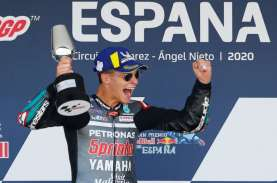 Juara Moto GP 2020 Spanyol, Quartararo: Saya Belum…
