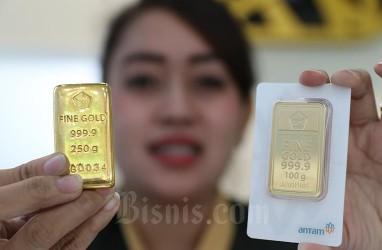 Harga Emas Antam dan Pegadaian Kompak Stagnan, Potensi Rebound