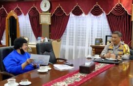 Kunker ke Riau, Menteri LHK Mantapkan Upaya Pencegahan Permanen Karhutla