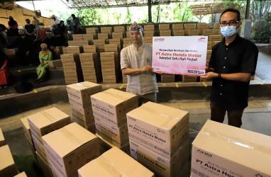 AHM Salurkan Bantuan Hadapi Pandemi Covid-19
