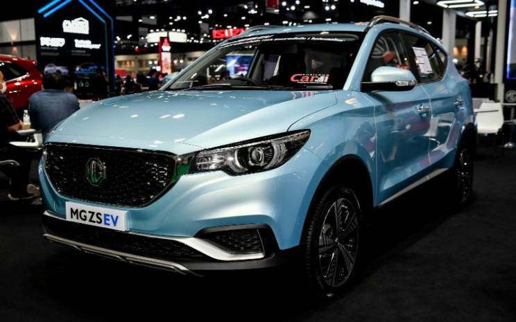 MG ZS EV tampil di Bangkok International Motor Show (BIMS) 2020.  - BIMS 2020