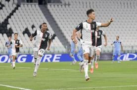 Cetak Gol di Juventus vs Lazio, Ronaldo & Immobile…