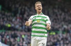 Milan & Leicester Berebut Bek Celtic Kristoffer Ajer