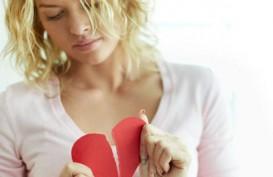 Awas! Sedih Putus Cinta Picu Penyakit Jantung