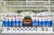 Skoda Auto Catat Produksi 3 Juta Unit di China