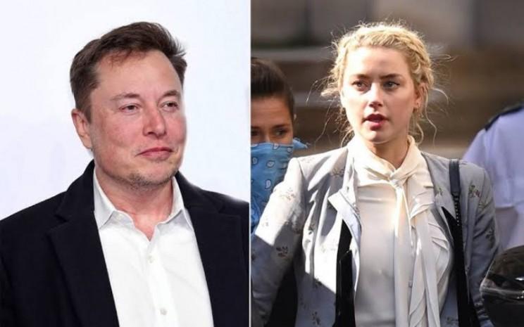 Elon Musk dan Amber Heard