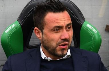 Bos Sassuolo Roberto de Zerbi Sebut Peringkat Ke-8 Sudah Bagus