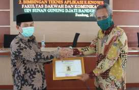 Fakultas Dakwah dan Komunikasi UIN Bandung Manfaatkan e-Knows Selama Pandemi