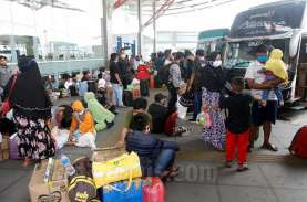 SIKM DITIADAKAN : Pengunjung Terminal Melonjak