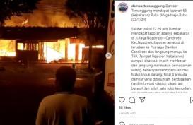 Tiga Ruko di Temanggung Terbakar, Kerugian Ditaksir Rp1 Miliar