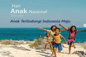 Hari Anak Nasional, Jokowi: 70 Juta Lebih Anak Indonesia…