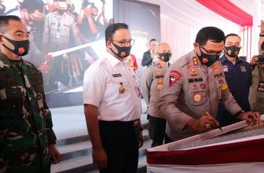Anies Luncurkan Aplikasi Jakarta Utara Sehad,  Bisa Pantau Pergerakan Orang 25 Meter