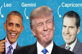 Intip Gaya Kepemimpinan Presiden AS dari Zodiak, Ada…