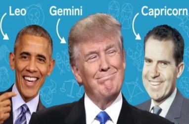 Intip Gaya Kepemimpinan Presiden AS dari Zodiak, Ada Licik dan Bernasib Tragis