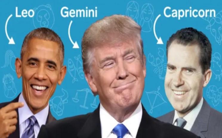 Zodiak presiden Amerika Serikat. - Bussines Insider