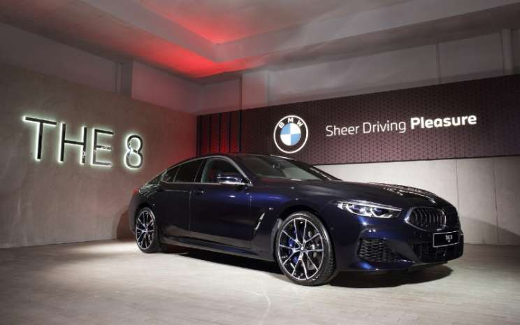 BMW 840i Gran Coupe.  - BMW