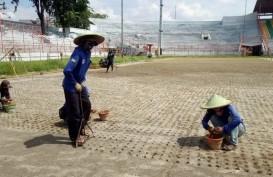 Mantap, Rumput Stadion Gelora 10 November Sudah Standar FIFA
