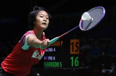Hasil Lengkap Babak Perempat Final PBSI Home Tournament Tunggal Putri
