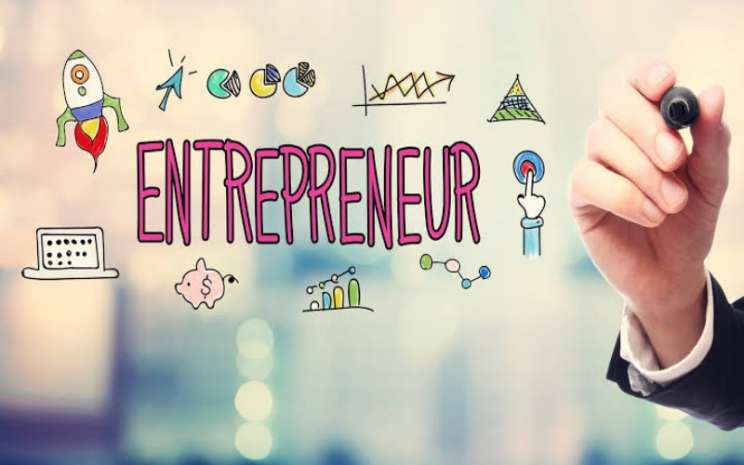 Ilustrasi entrepreneur