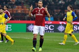 Milan vs Atalanta, Adu Tajam Ibrahimovic vs Muriel–Zapata