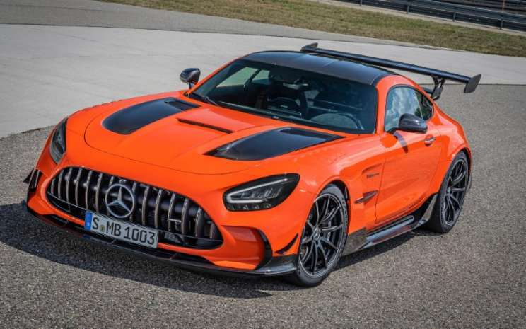 Mercedes-AMG GT Black Series, 2020.  - Mercedes/Benz.\\n